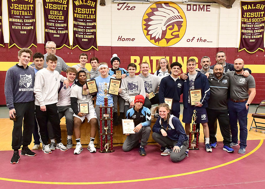 Wyoming Seminary 2019 Ironman Champions