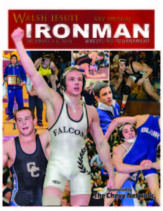 Walsh Jesuit - Ironman Cover