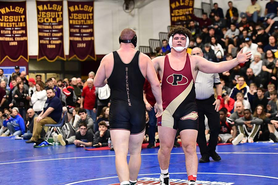 Welcome to the Walsh Jesuit IRONMAN Wrestling Tournament